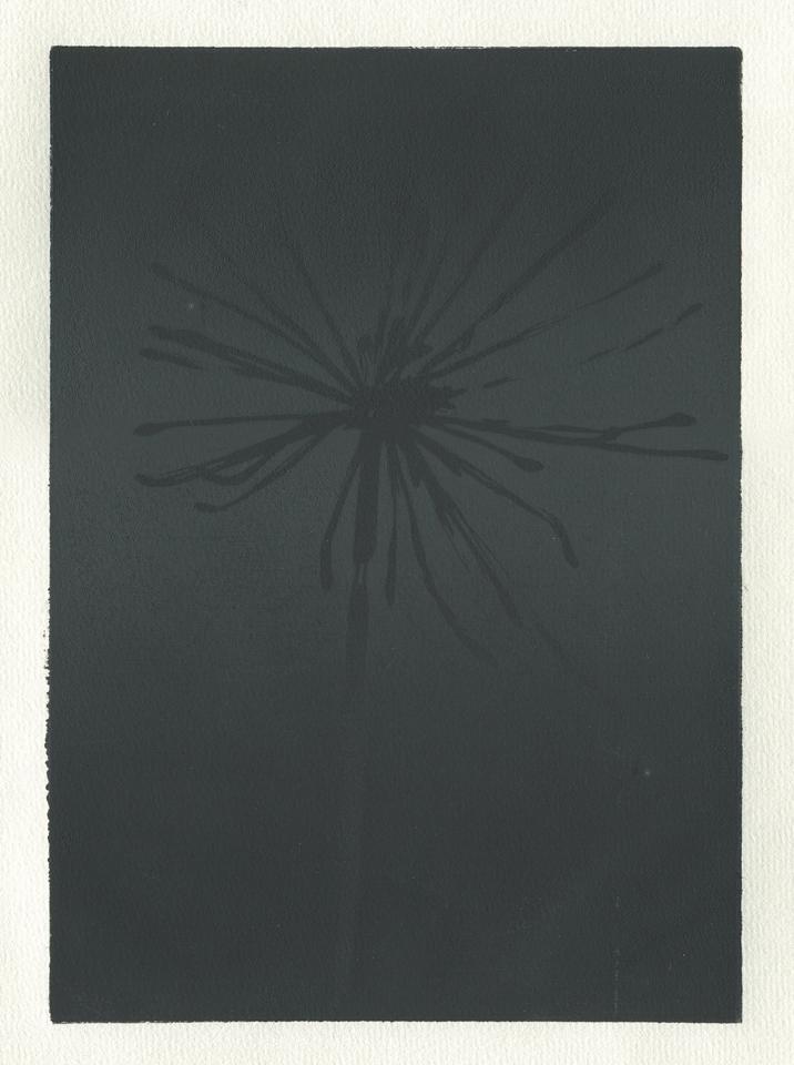 Zodiak (I) 2012 linocut 29 x 23 cm